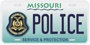 State Police License Plates
