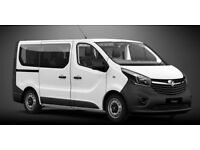 Vauxhall Vivaro 9 Seater PCO Minicab Licensed, Uber Ready or For Private Use