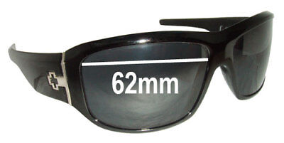 SFx Replacement Sunglass Lenses fits Spy Optics Lacrosse - 62mm (Lacrosse Spy Sunglasses)