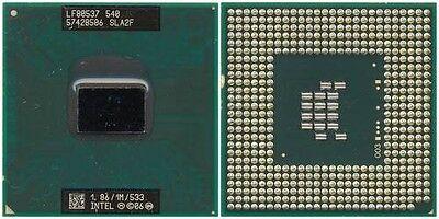CPU Intel Celeron M 540 1.86/1M/533 SLA2F processore per Acer