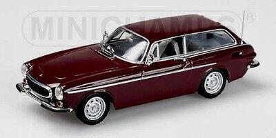 wonderful  MINICHAMPS-modelcar VOLVO P 1800 ES 1972 - darkred - scale 1/43  for sale  Shipping to Canada