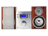 Goodmans Micro 1104SDAB HiFi system - Silver £35