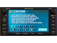 LEXUS E1B (E21) 2015/16 Generation 3 & 5 ( TNS600/700 ) Satellite Navigation Update Disc.