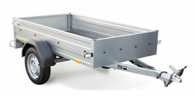 STEMA pkw Anhänger OPTI 750 Kg 33cm hohe Bordwände 13Zoll 100KMH Freigabe Neu