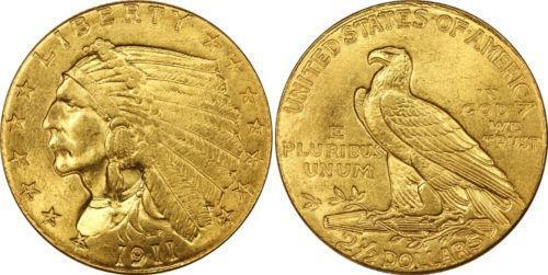 1911 Gold Indian Head Ebay