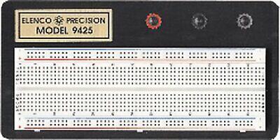 Elenco Breadboard With 830 Tie Points - 9425