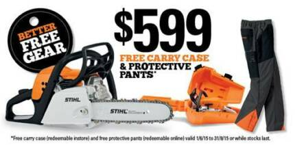 STIHL CHAINSAW MS181C-BE Gold Coast Region Preview
