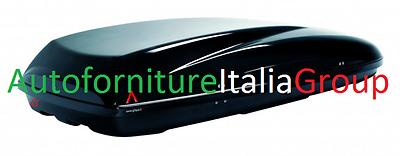 BOX BAULE PORTATUTTO PORTABAGAGLI TETTO AUTO G3 MOD. HELIOS 480 (390LT)