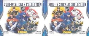 2018-19 Panini NHL Hockey Sticker Collection 2 boxes (100 packs)