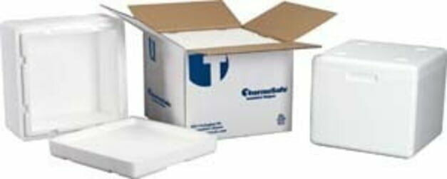 Tegrant Thermosafe ThermoSafe Insulated Shippers, Expanded Polystyrene: 326