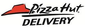 pizza hut delivery driver