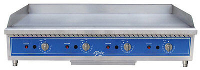 Globe Gg48tg 48 Natural Gas Griddle Thermostatic Controls Counter Top