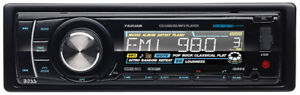 BOSS AUDIO 752UAB Single-DIN CD/MP3 Player Receiver, Bluetooth