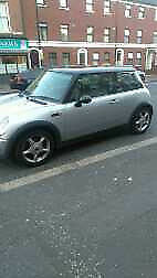 2003 silver mini cooper mot,d great car