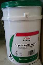 Castrol Grease Snow White Petroleum Jelly 18kg Pale Container