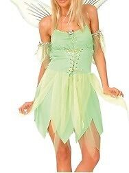 Tinker Bell Costume (inc. wings and wand)