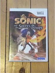 Wii Sonic and the Secret Rings game