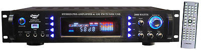 3000W HOME THEATER DIGITAL STEREO RECEIVER PRE AMP AMPLIFIER AM/FM USB iPOD NEW