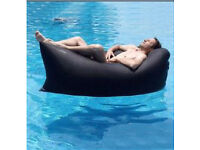 Inflatable Lounger: Outdoor and Indoor Fast Inflatable Waterproof Portable