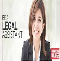 BECOME A LEGAL ASSISTANT
