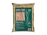 Tarmac Weed Free Paving sand, 20kg Bag - £14 per Bag -10 Bags available