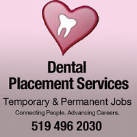 Temporary staff for dental offices