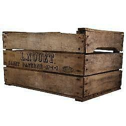 French apple crates home furniture diy ebay for Apple crate furniture