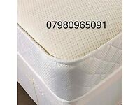 High Quality, Double. 12 INCH, Memory Foam Mattress, Kingsize, Single, Firm, reversible USE