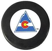 Colorado Rockies Puck