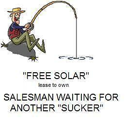 AVOID those **FREE SOLAR** roof-renters..you lose $72,000 income