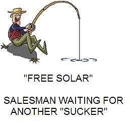 Those **FREE SOLAR** deals are NOT FREE..you lose $72,000 income
