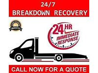 24/7 Essex Car Breakdown Recovery Tow Truck Service Auction Vehicle Transporter Nationwide Cheap