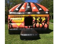 Disco Dome Bouncy Castles Super Slide Mascots Balloons Candy Floss Popcorn And More