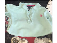 Gorgeous bundle of branded outfits like Ralph Lauren, Nike, river island, Next etc 2-3 year old girl