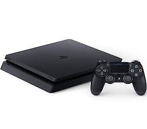 Ps4 slim 1TB With games and new controller
