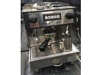 Espresso Machine, one group, suitable for home, office or light catering,