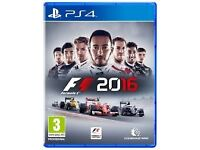 WANTED F1 2016 PLAYSTATION 4