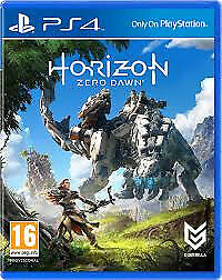 PS4 HORIZON ZERO DAWN (LOTS OF OTHER TITLES IN STORE)