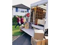 URGENT SHORT NOTICE MAN&LUTON VAN TRUCK HOUSE/OFFICE REMOVALS/MOVE/PIANO/BIKE DELIVERY HIRE/COURIERS