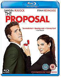 THE PROPOSAL (Ryan Reynolds) - BLU-RAY - REGION B UK