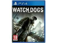 Ps4 Watch Dogs PS4 GAME