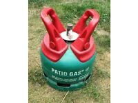 Calor Patio gas bottle 5kg, FULL.