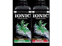 Ionic Soil Grow/Bloom 1L Plant feed/nutrient Hydroponics
