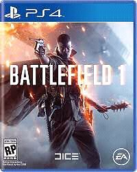 Battlefield 1 for PS4 SEALED
