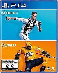 Nhl et fifa 19 combo (2 jeux 1 case)