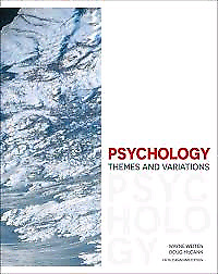 Psychology: Themes and Variations 5th Canadian Edition (New)