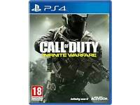 Call of duty infinite warefare ps4- playstation game not xbox