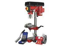 wanted tools bench grinder pillar drill