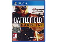 Battlefield Hardline game for Playstaion 4 (PS4)