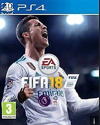 New unopened game - FIFA 2018 for PS4
